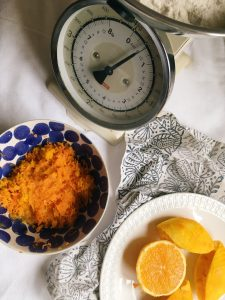 carrot, ginger, and orange cake recipe, Sophie Caldecott's sunshine cake