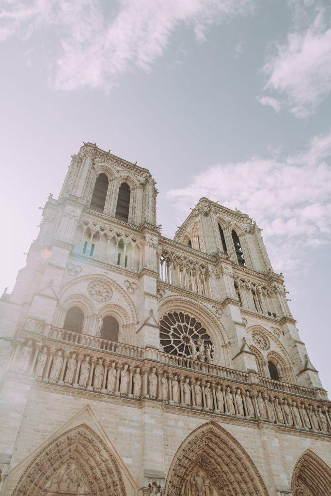 Notre Dame cathedral Paris fire