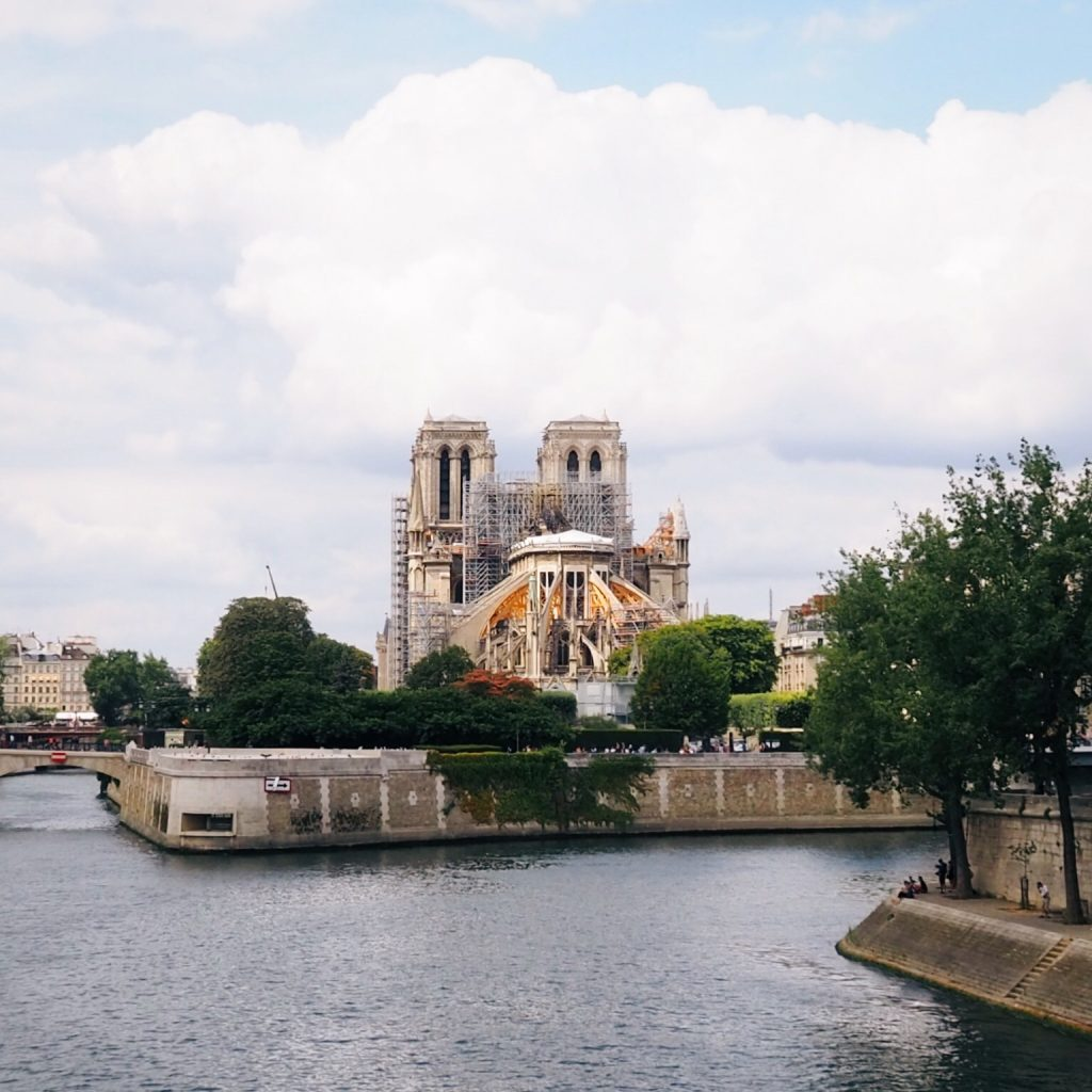 Notre-Dame Paris damage from the April 2019 fire